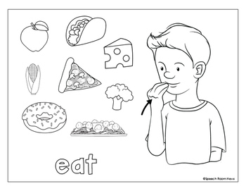 Sign Language Action Words :: ASL Activities to Teach
