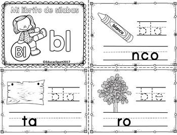 Silabas Trabadas Br Paquete De Actividades Spanish