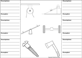 Simple Machines Activity: Lever, Wedge, Screw, Wheel