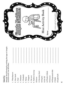 Simple Machines Activity Packet by Living Laughing