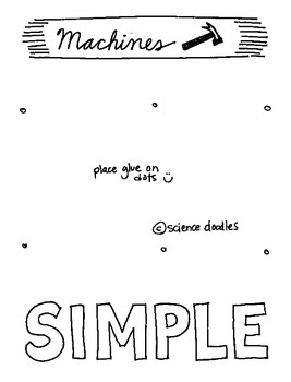 Simple Machines Interactive Notebook Foldable by Science