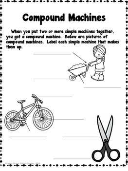 Simple Machines Interactive Notebook by Tales from Third