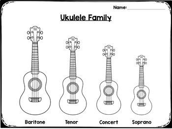 Sing & Strum Ukulele: Worksheets & Assessments by