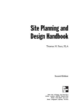 Site Planning and Design Handbook, Second Edition by med