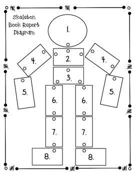 Story Skeleton Book Report Project FREEBIE by A Learning