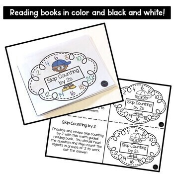Skip Counting by 2 Math Guided Reading Book by No