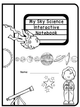 Sky Science and Space Interactive Notebook by Enriching
