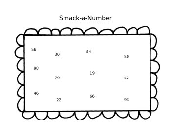 Smack-a-Number...A double digit subtraction game by Second