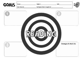 Small Group Targeted Instruction Record Sheets & Goals by