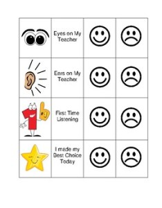 also smiley face behavior chart by sheila   shenanigans tpt rh teacherspayteachers