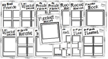 Snapshots of First Grade ~ A 1st Grade Memory Book by