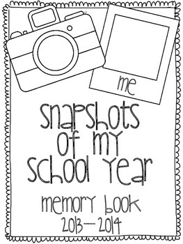 Snapshots of My School Year Grade K-3 End of the Year