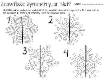 Snowflake Symmetry by Joy in the Journey by Jessica Lawler