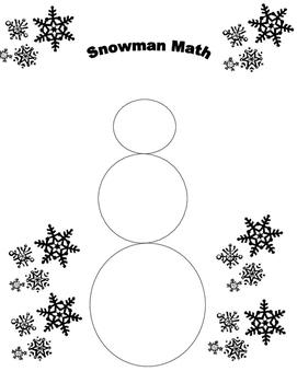 Snowman Math adding and subtracting radical expressions by