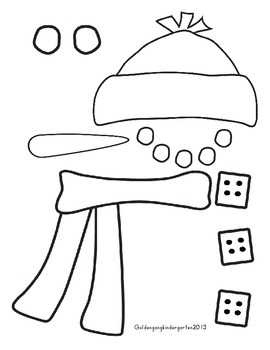 Snowmen, Common Core Literacy and Math Activities by