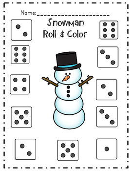 Winter Common Core Math & Literacy Activities by The First