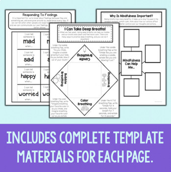 Social Emotional Interactive Notebook Bundle by