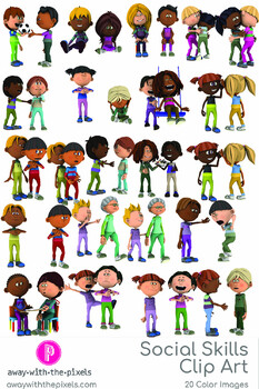 Social Skills Clipart : social, skills, clipart, Social, Skills, Clipart, Teachers, Interaction, Communication, Others
