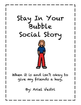 Social Story Keeping Your Hands to Yourself by Ariel