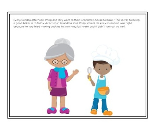 Social Story Unit Following Directions A Recipe For Success