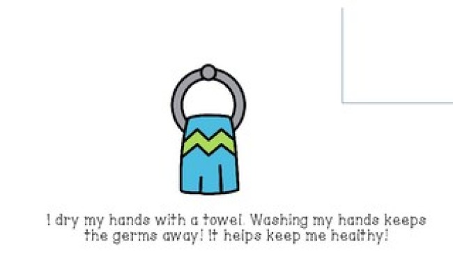 Social Story Washing Your Hands With Picture Cues And
