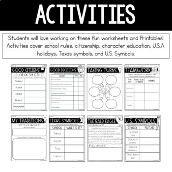 Social Studies Interactive Notebook Bundle: Community