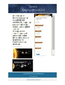 Digital Breakout Edu Answers : digital, breakout, answers, Solar, System, Digital, Breakout, Edusisters, Teachers