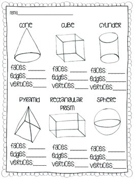 Solid Shapes {A common core geometry unit} by Megan Astor