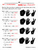 Solving Two Step Equations Rock Paper Scissors by MATH