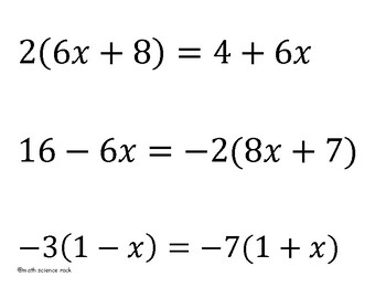 Solving Multi-step Equations using the distributive