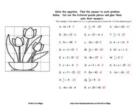 Fun Solving Equations Worksheet - Calleveryonedaveday