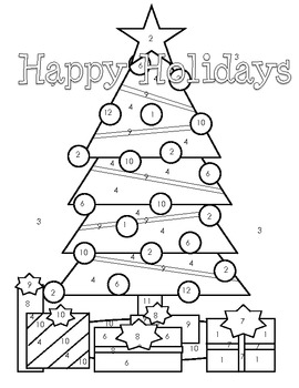 Solving Two-Step Equations (Holiday Coloring Activity) by