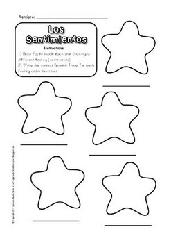 Song & Activities to Teach Feelings in Spanish by Fun for