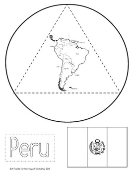 South America Interactive Notebook by Having A Fields Day