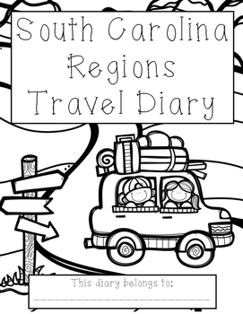 South Carolina Regions Travel Diary by The Handout Factory
