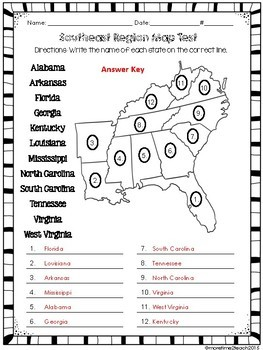 Southeast Region Unit {1 of 5 US Regions} by More Time 2