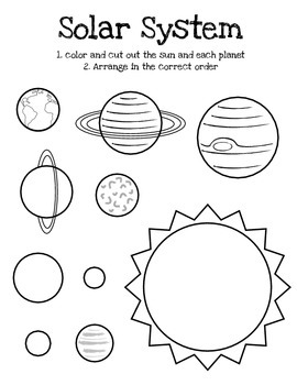 Space &Solar System Unit Interactive Notebook Bundle by