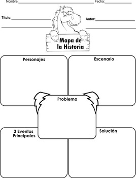Spanish! 10 Different graphic organizers for early readers