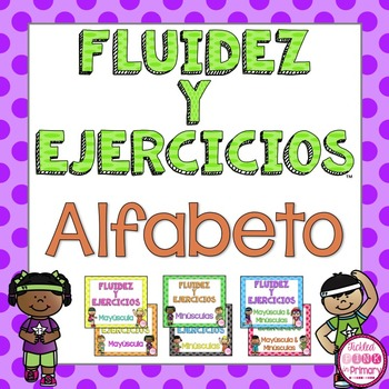 Spanish Alphabet Fluency Fitness Alfabeto By Tickled Pink In Primary