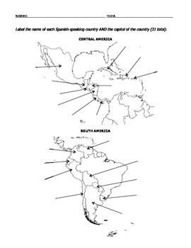 Spanish-Speaking Countries by Senorita Hinbern