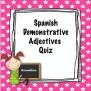 Spanish Demonstrative Adjectives Worksheet By Srta S