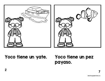 Spanish Emergent Easy Readers Letra Y (Libros faciles) by