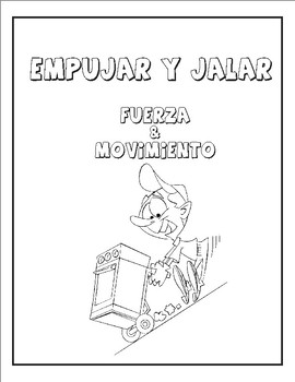 Spanish Fuerza y Movimiento: Empujar y Jalar / 6 ejemplos