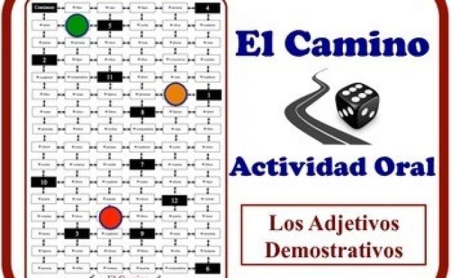 Spanish Demonstrative Adjectives Speaking Activity Quick
