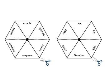 Spanish Stem-Change (E-IE) Verbs Practice Activity