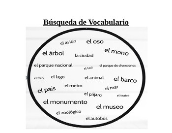 Spanish Vocab Quiz Realidades 3 Chapter 6B la ciudad