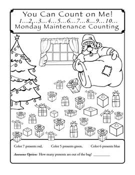 Special Education: MONDAY MAINTENANCE 4.0 December