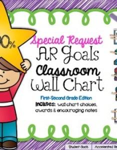 also special request ar goals classroom wall chart st nd grade ed rh teacherspayteachers