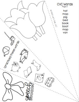 Speech & Language Bouquet Craftivity by Speech Therapy