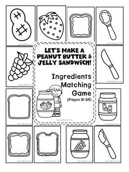 Speech Recipe Club: Let's Make a Peanut Butter & Jelly
